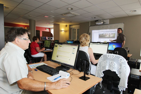 La formation au cybercentre